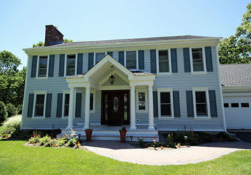 James Hardie Siding Project, Sag Harbor NY