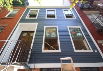 James Hardie Siding Project, in Brooklyn NY